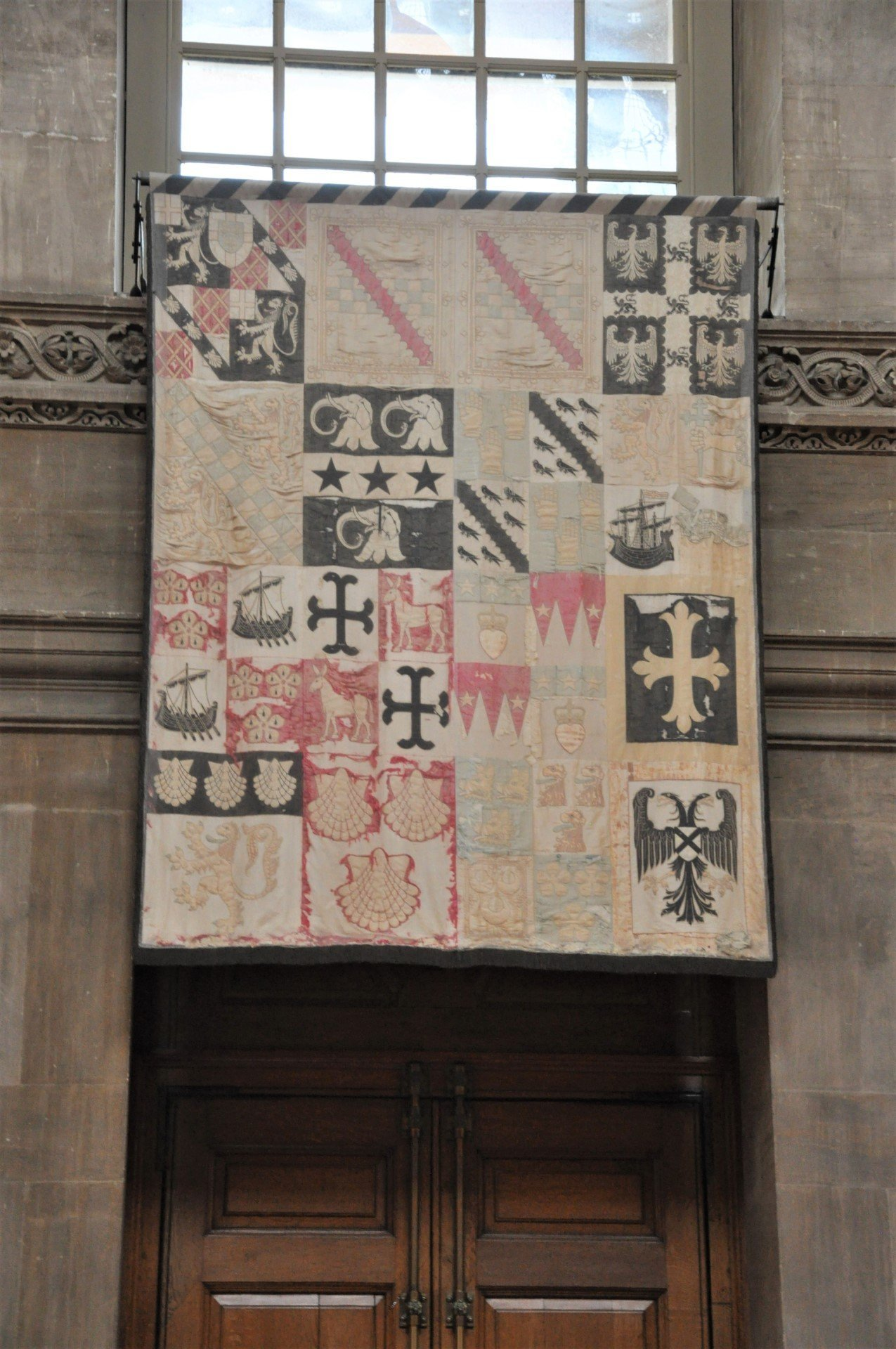 1st Duke of Malborough's Armorial Banner