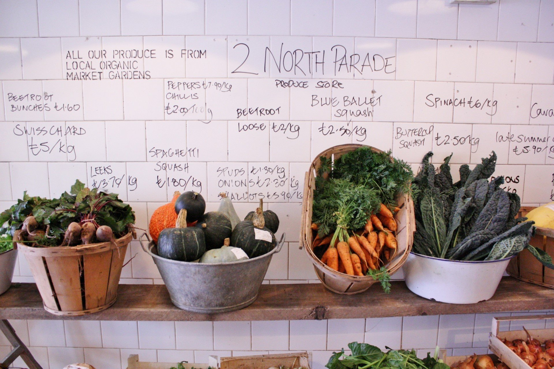 2 North Parade Produce Store, Oxford