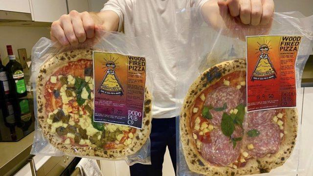 The brand new home bake Neapolitan pizzas by Dodo Pub Co.