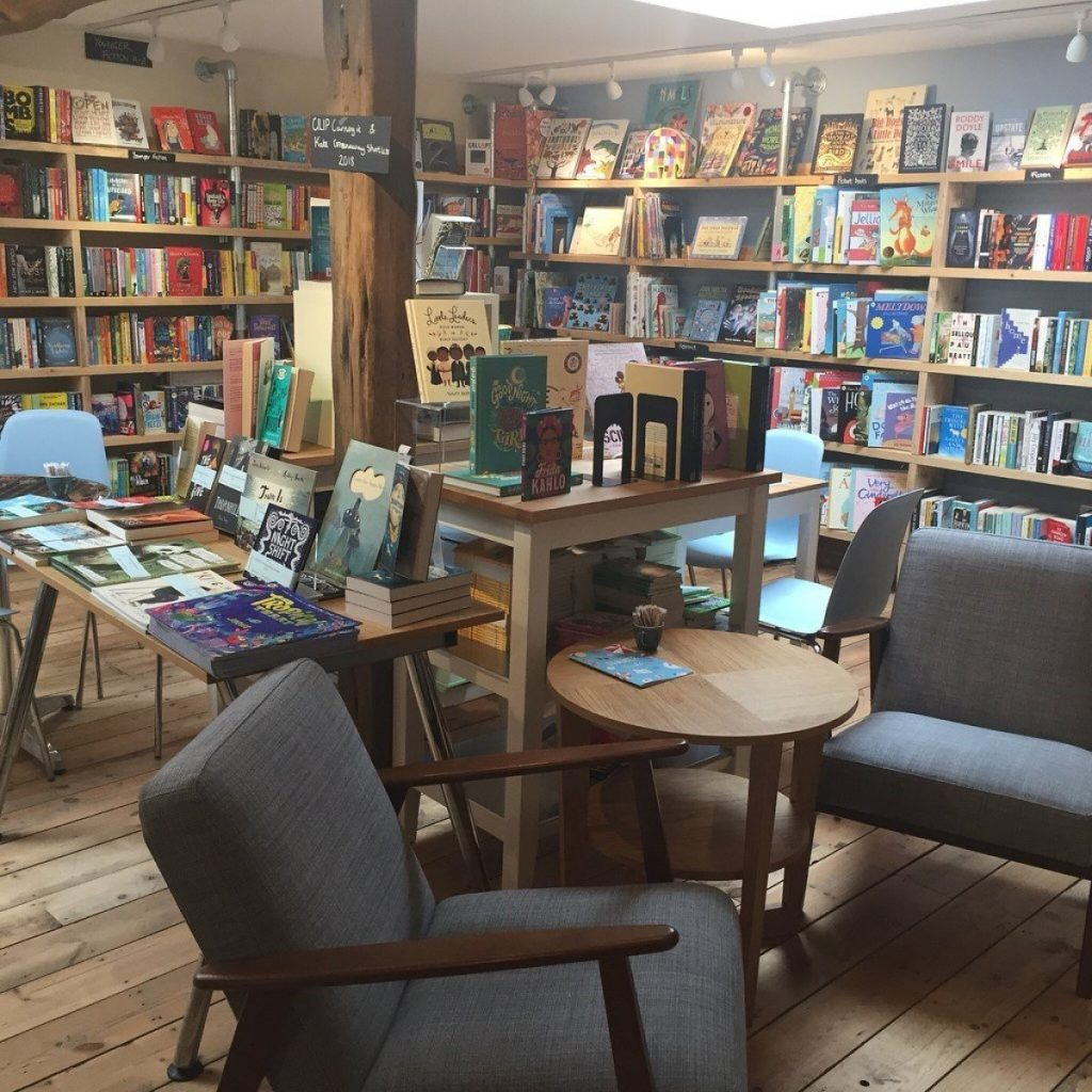 Oxfordshire's independent bookshops: Jaffé and Neale Bookshop & Cafe, Chipping Norton