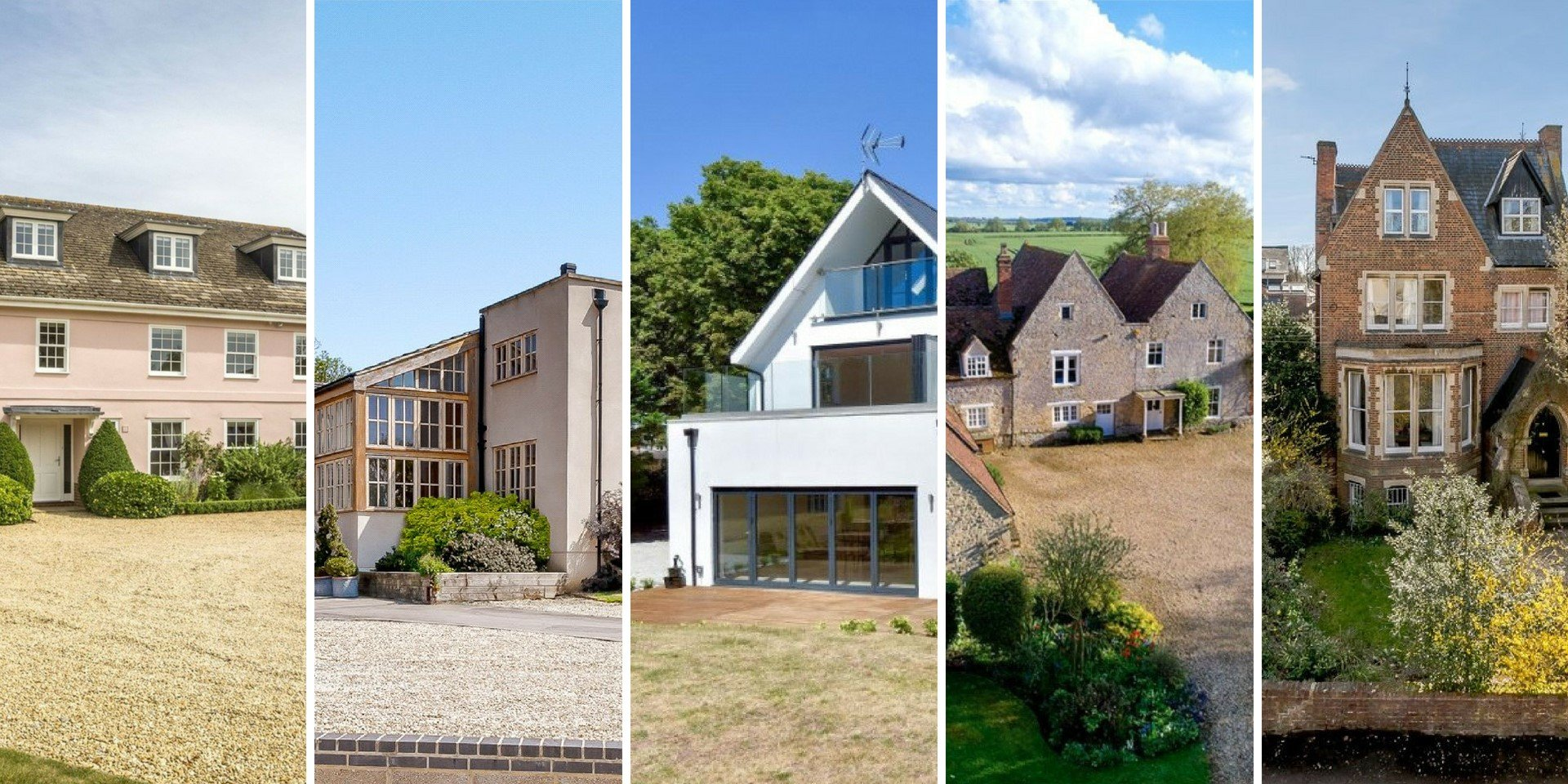 Luxury properties for sale in Oxfordshire in August 2018