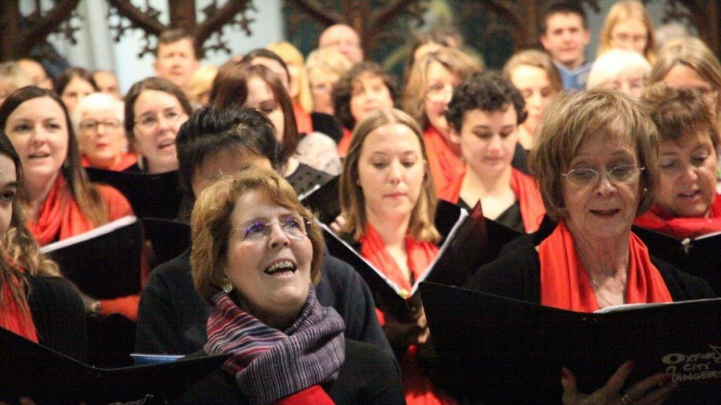 Oxford City Singers Christmas Concert 2019 at SJE Arts Oxford