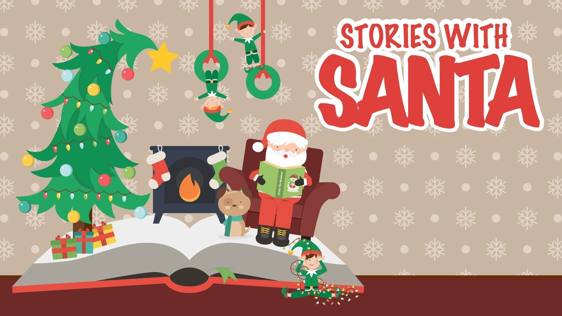 Stories with Santa Christmas Show for Children at New Theatre, Oxford
