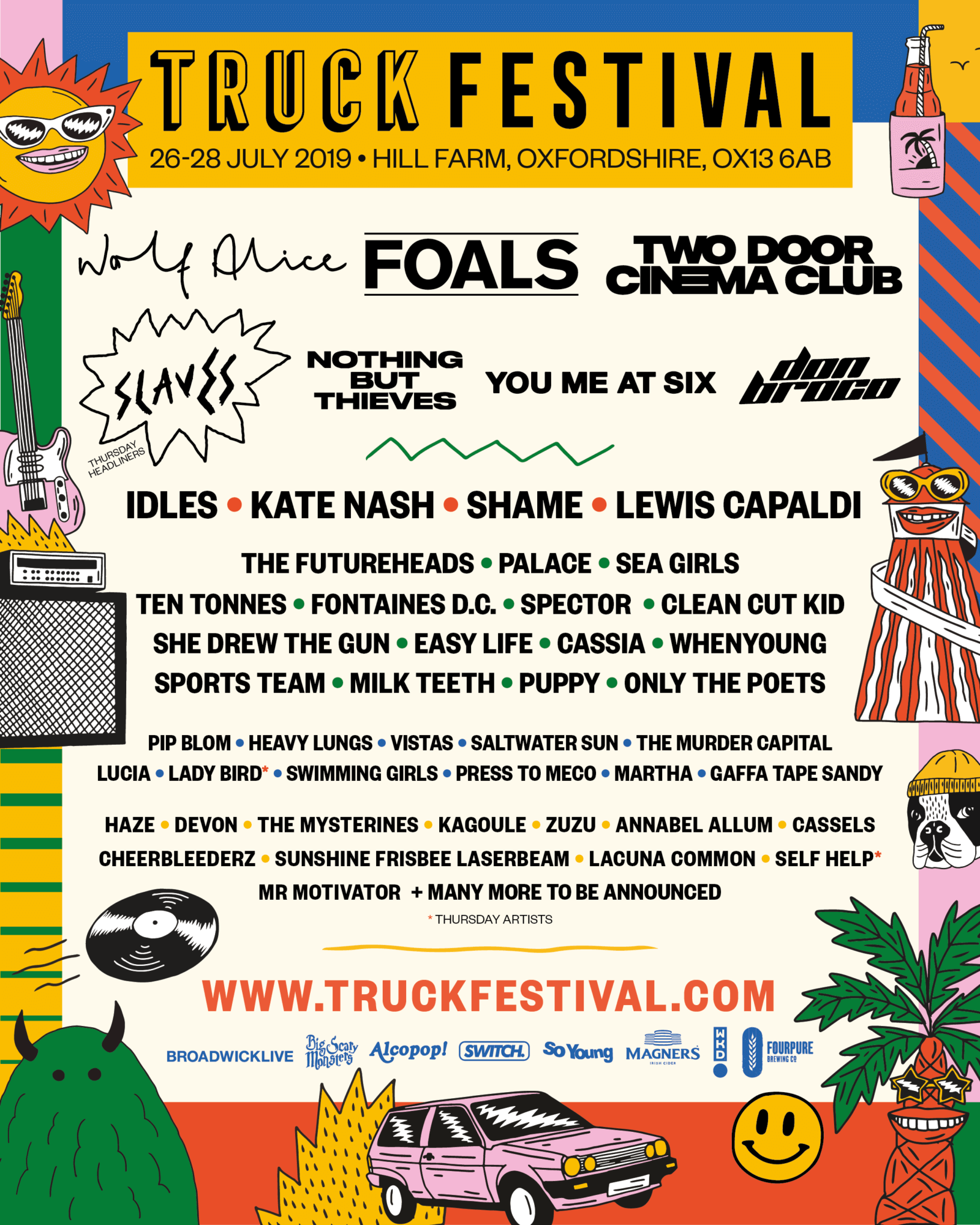 Truck Festival Oxfordshire First Announcement