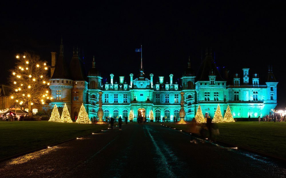 Christmas 2019 at Waddesdon Manor - Manor illuminations