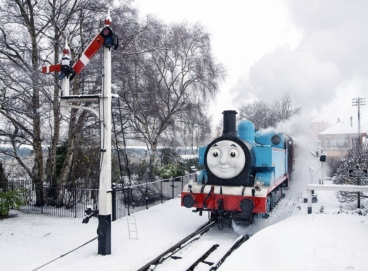 A Festive Day Out With Thomas at Didcot Railway Centre in Didcot, Oxfordshire