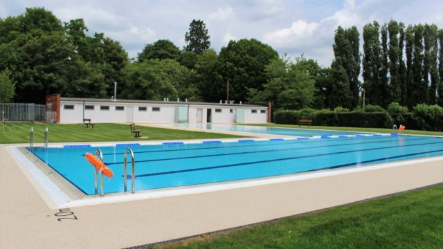 Abbey Meadow outdoor pool ready to reopen in July
