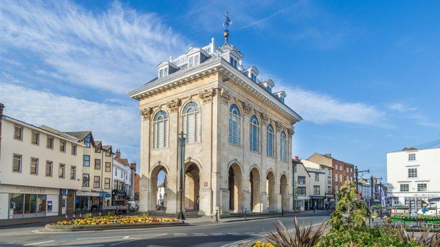 Abingdon Town Hall in Abingdon Town Centre