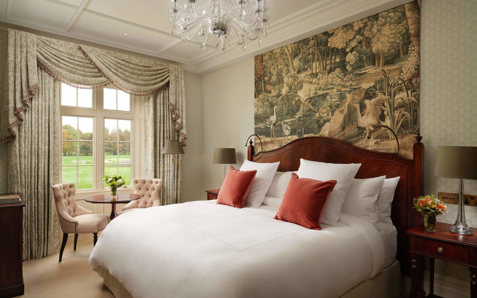 The Adare Manor Hotel Classic King Bedroom