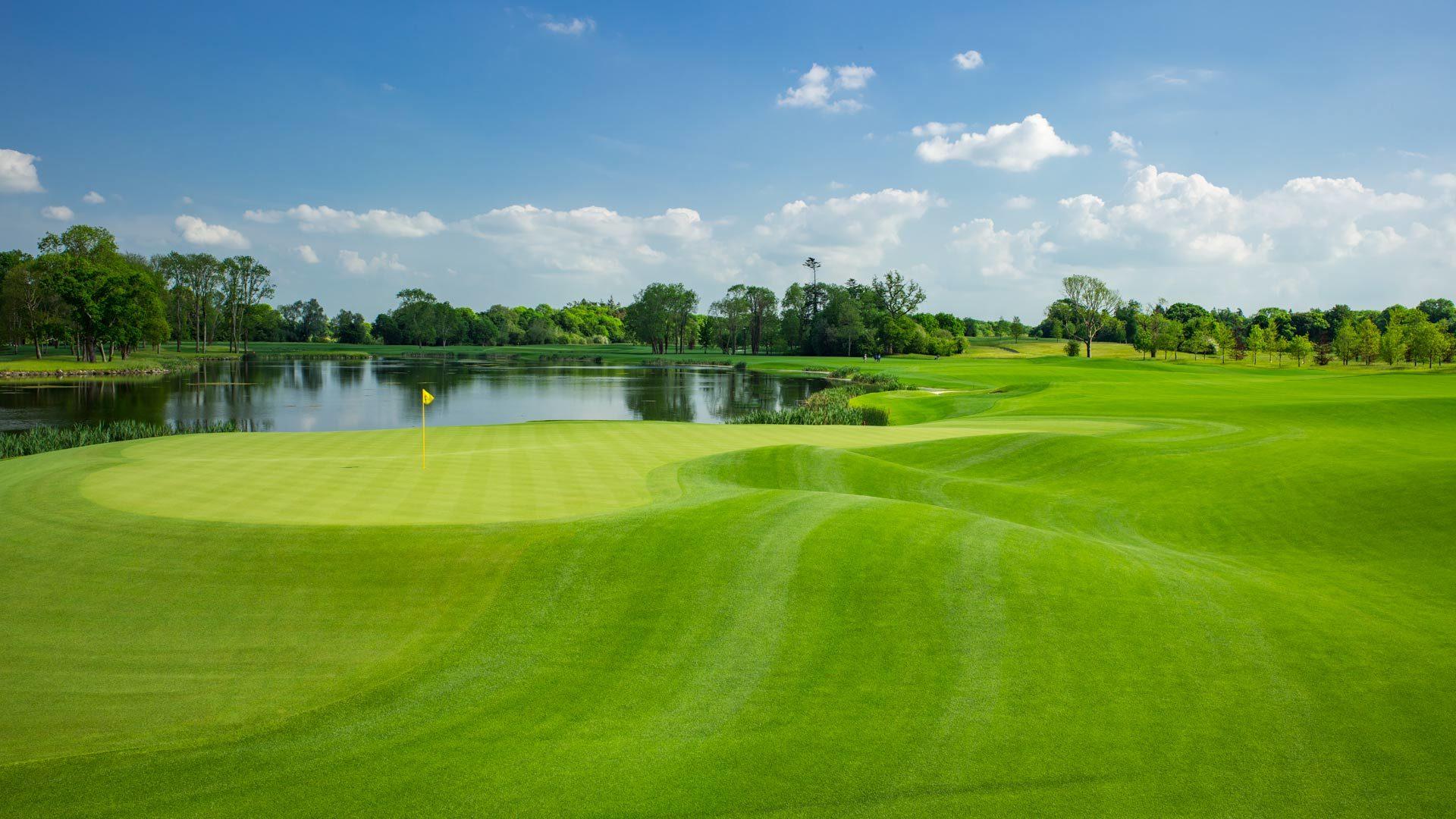 Adare Manor Hotel - Golf 16th Hole