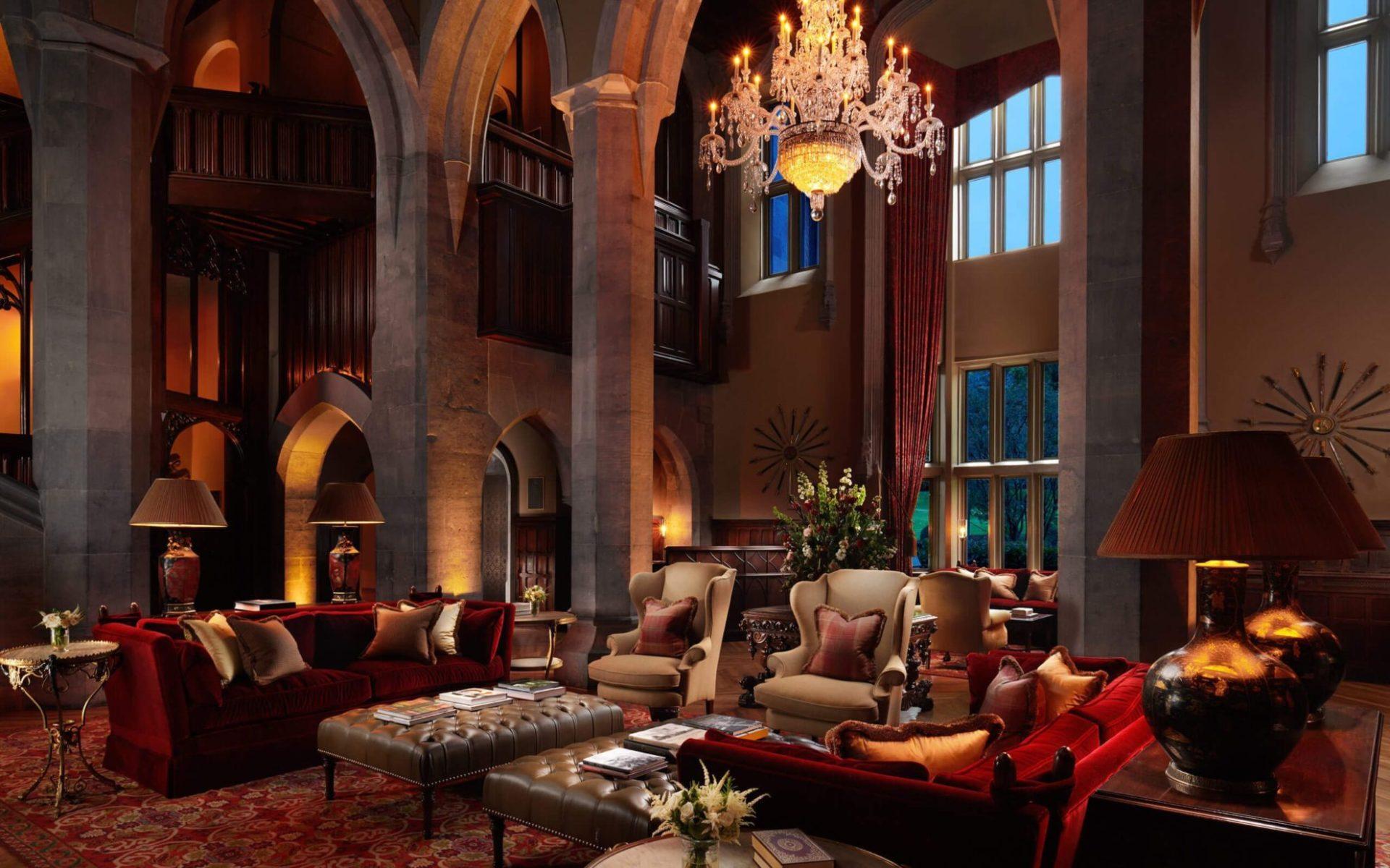 Adare Manor Hotel Golf The Lobby