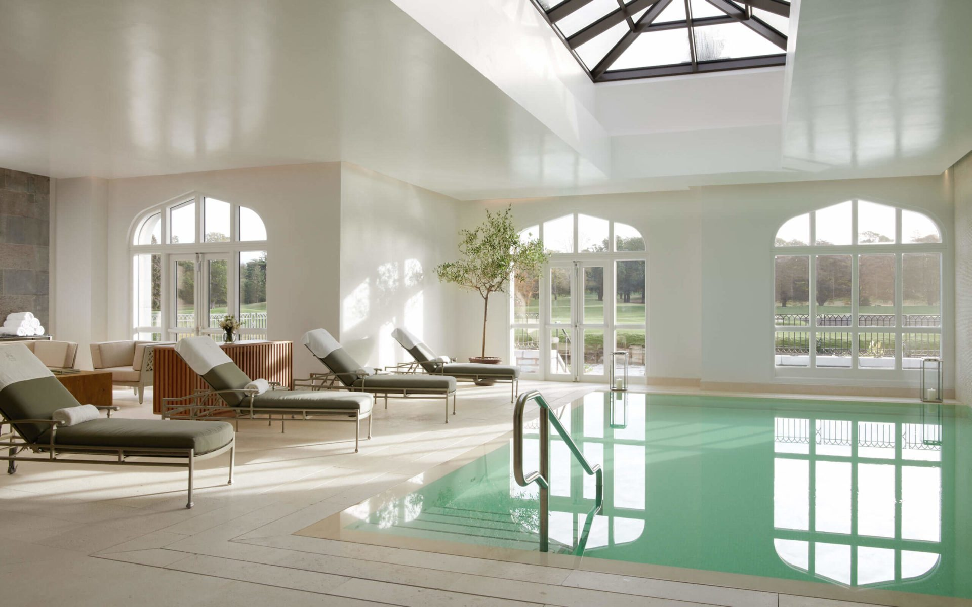 The Adare Manor Hotel Spa and Pool Area