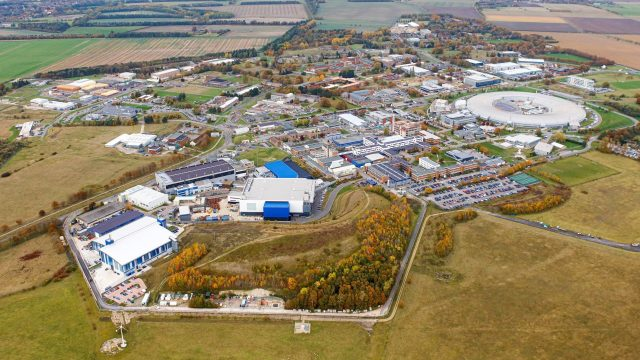 Aerial photo of Harwell Campus 2019