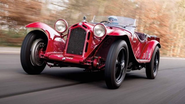 Auto Royale Concours d'Elegance at Waddesdon entrants revealed. Image: 1931 Alfa Romeo 8C Spider by Zagato (photo credit: Jamie Lipman)