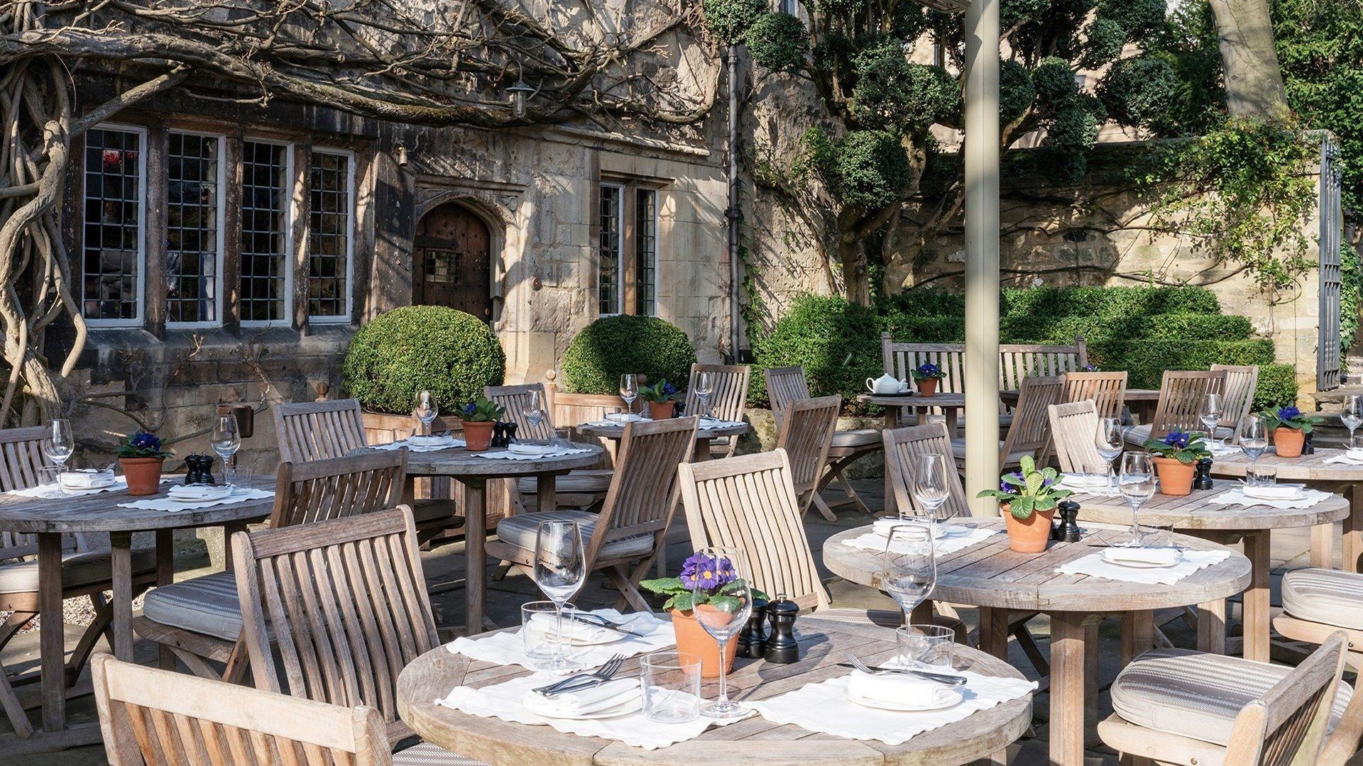 Alfresco Dining in Oxford City