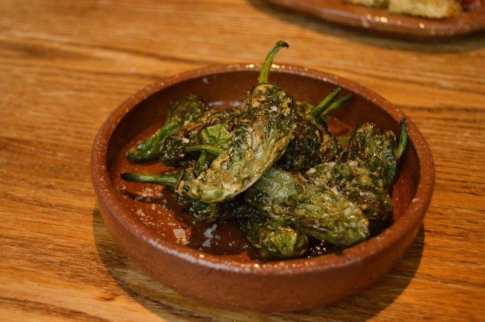 Arbequina Tapas Restaurant and Bar, Cowley Road, Oxford - Food - Padron