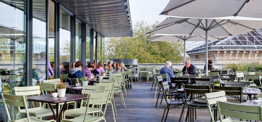 Ashmolean Cafe and Rooftop Restaurant Oxford - Terrace