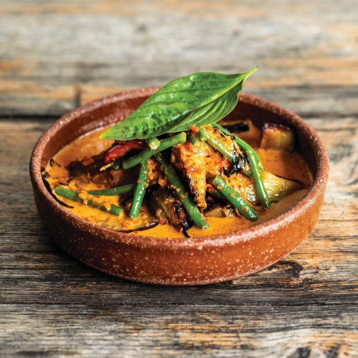 Aubergine Curry Recipe by Oli's Thai Restaurant in Oxford