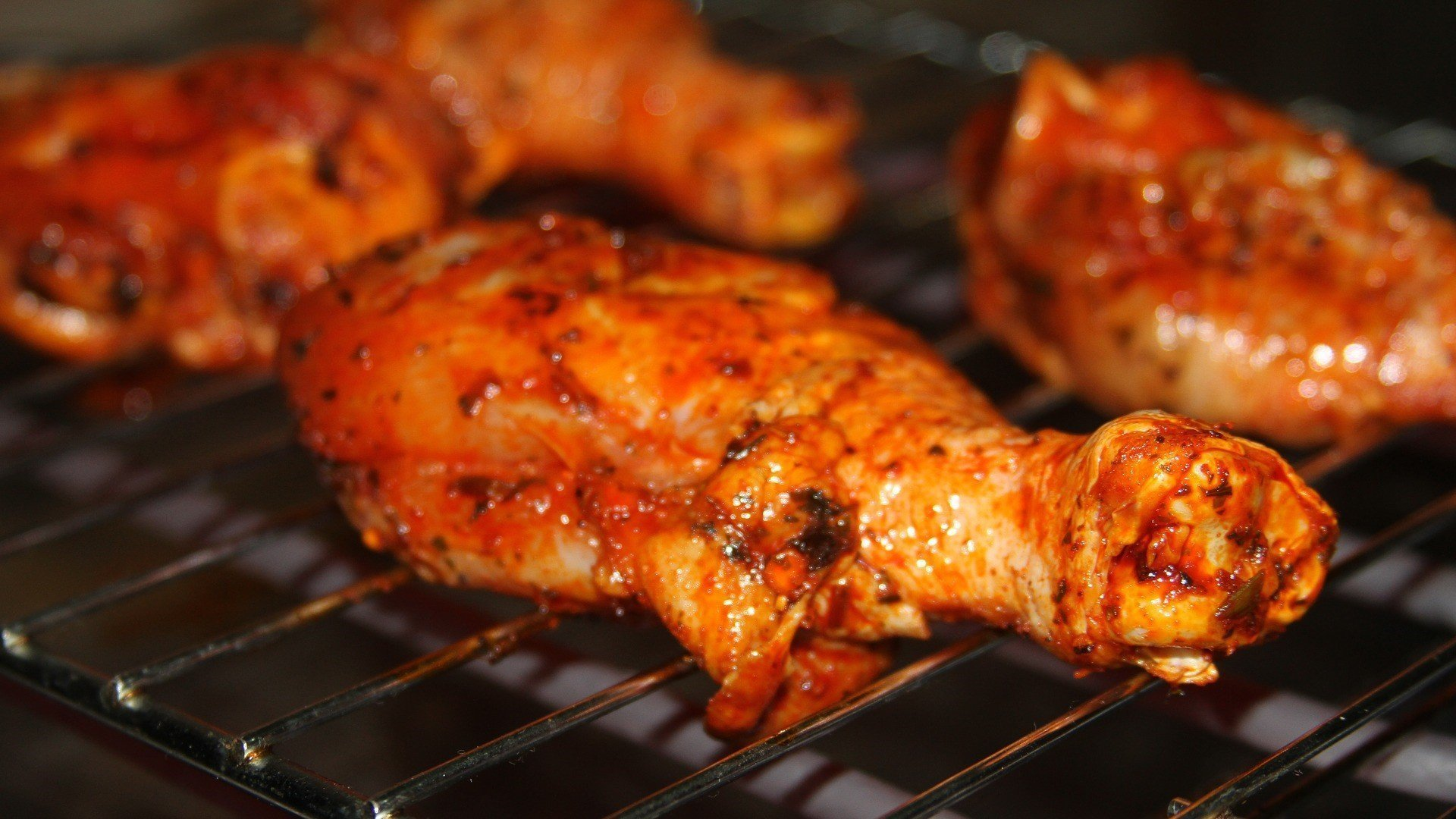 Barbecued Chilli Chicken Drumsticks Recipe