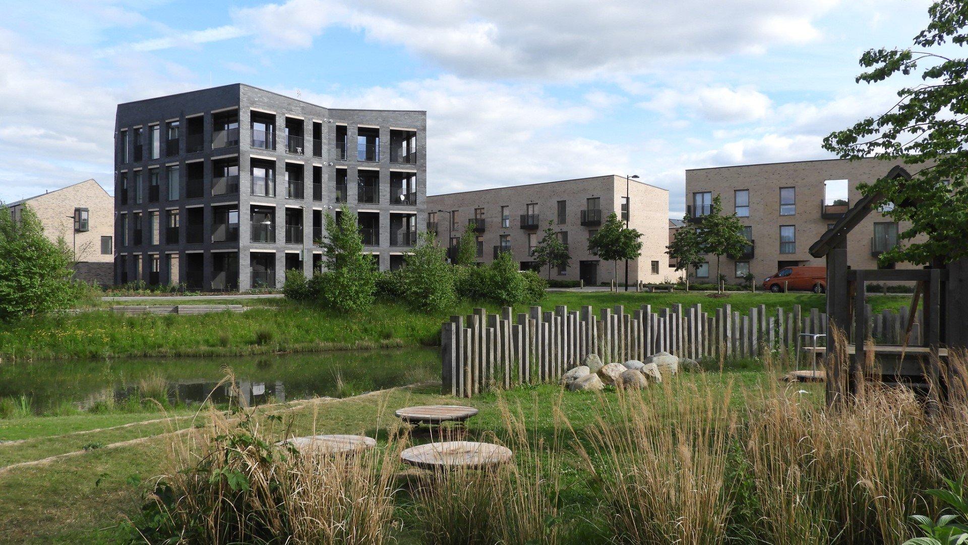 Oxford City Council selects third housebuilding partner at Barton Park. Image: Barton Park in Oxford