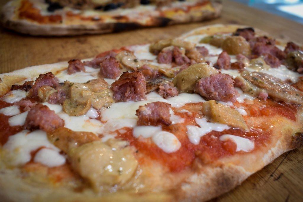 Bbuona Pizza Bar, Oxford