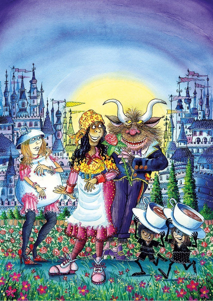Beauty and the Beast Pantomime at Oxford Playhouse