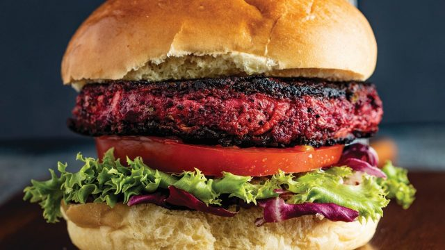 Beetroot and Mint Burger Recipe by The Butchers Arms