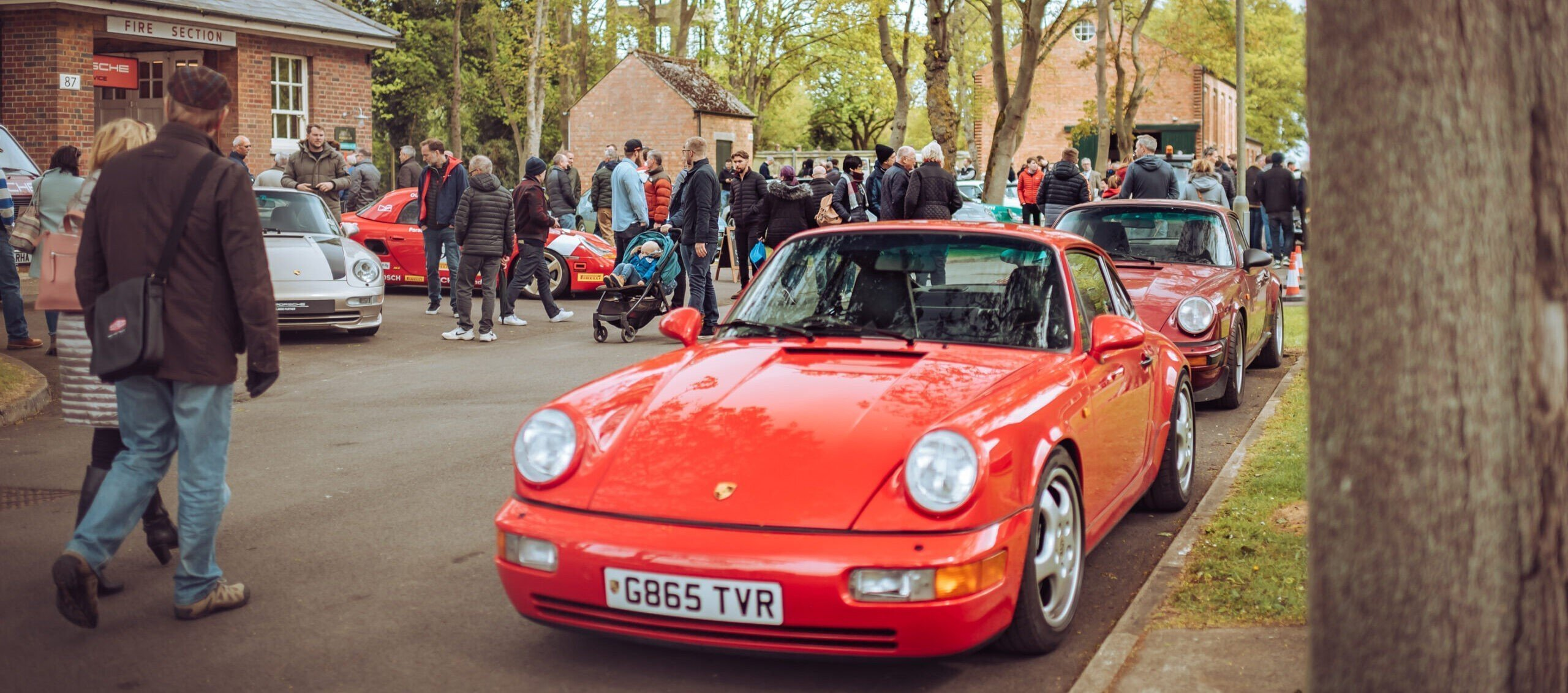 Bicester Heritage Classic Car Drive-in Weekend