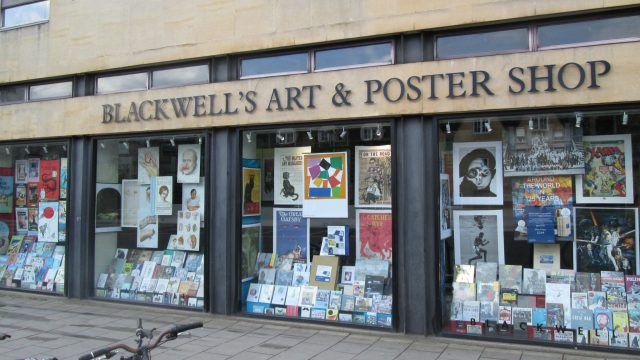 Blackwell's Art & Poster Shop Oxford