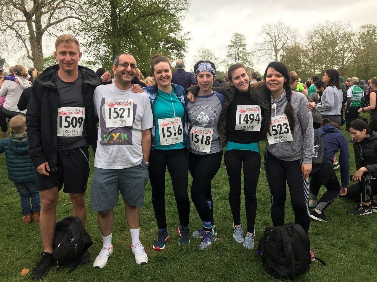 Blenheim 7k Fun Run. Team Blackwells in 2019