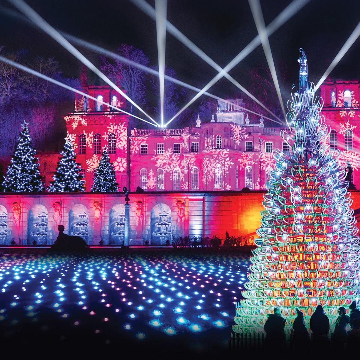 Blenheim Palace Illuminated Christmas Lights Trail 2019