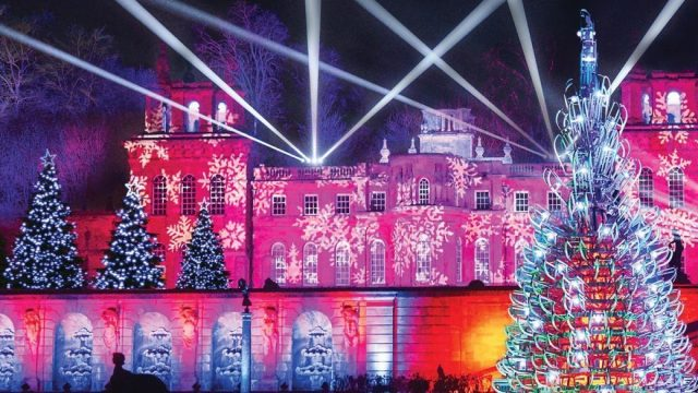 Blenheim Palace Illuminated Christmas Lights Trail 2019