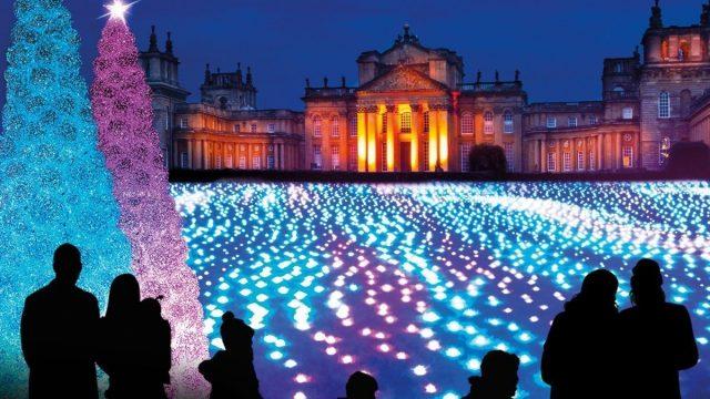 Blenheim Palace Illuminated Christmas Lights Trail