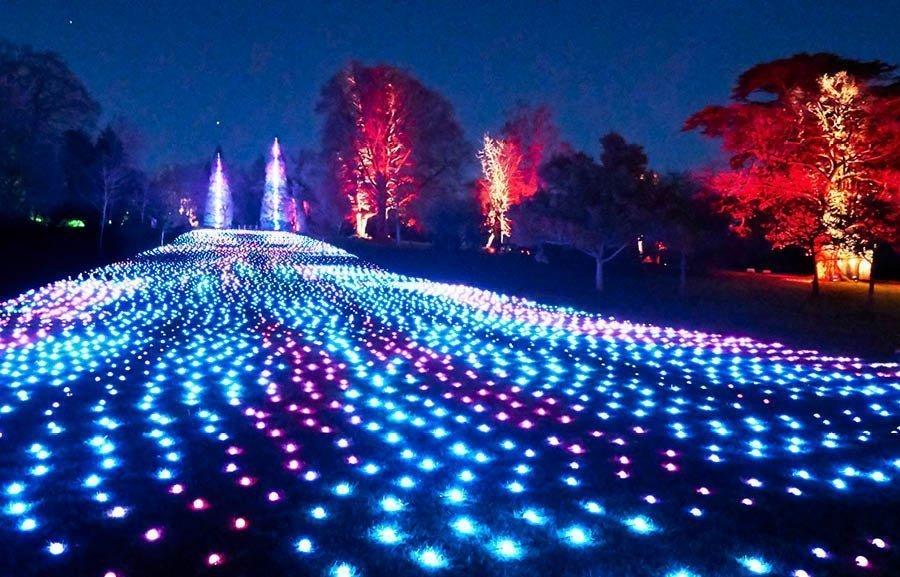 Blenheim Palace Illuminated Light Trail 2020 - Slider Image 4