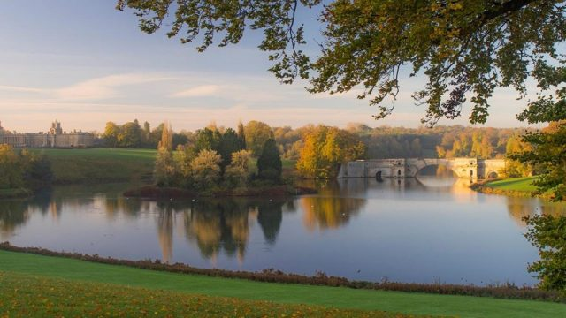 Blenheim Palace receives grant for Grand Bridge preservation work