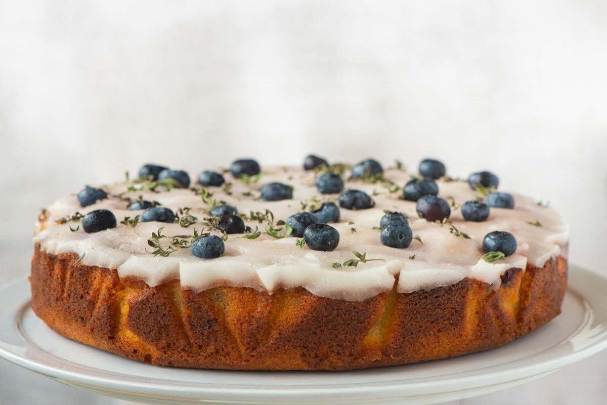 Blueberry, Lime & Lemon Thyme Cake Recipe