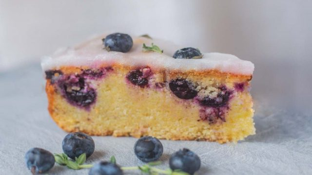 Blueberry, Lime & Lemon Thyme Cake Recipe