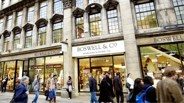 Boswell & Co Department Store Oxford