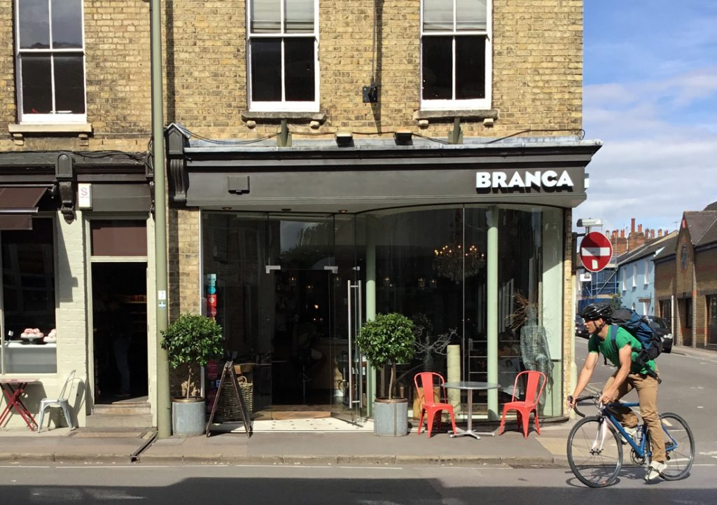 Branca Restaurant and Brasserie, Jericho, Oxford - Exterior