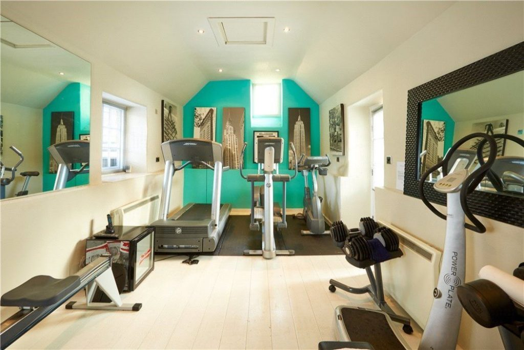 Brandon House, Manor Road, Sandford St. Martin, Chipping Norton, Oxfordshire - Gallery Image 08 - Gym