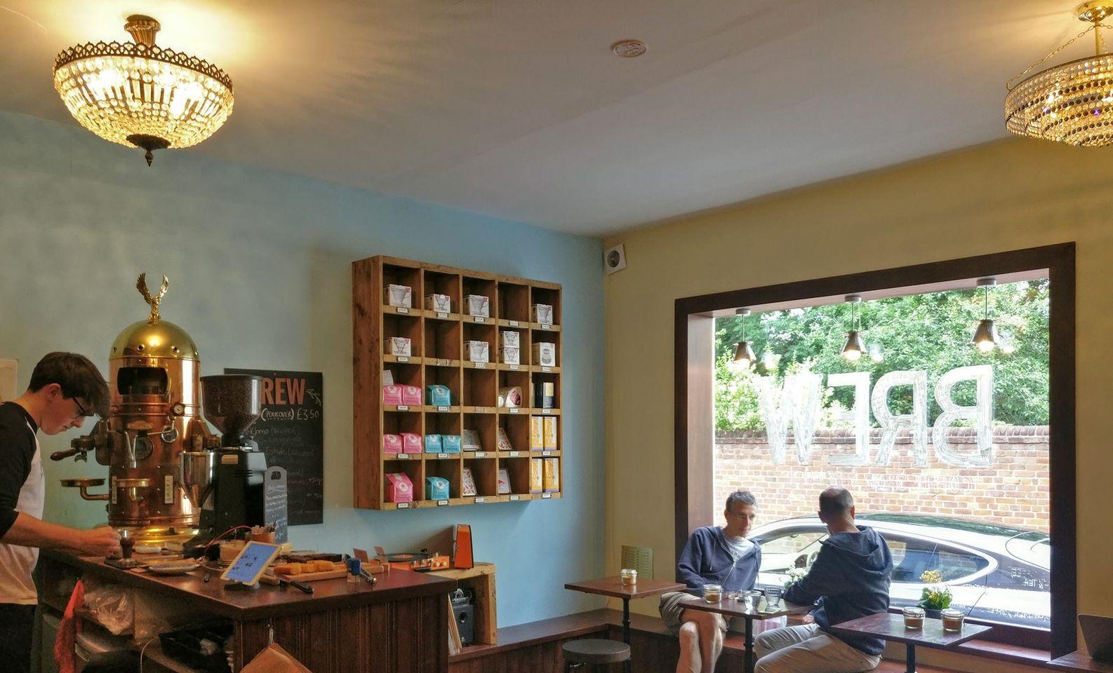 Brew Coffee Shop & Retailer, Jericho, Oxford