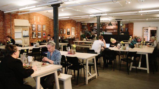 Brick Cafe Bar @ Modern Art Oxford - Interior