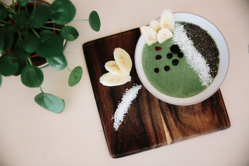 Brick Cafe Bar @ Modern Art Oxford - Green Smoothie Bowl