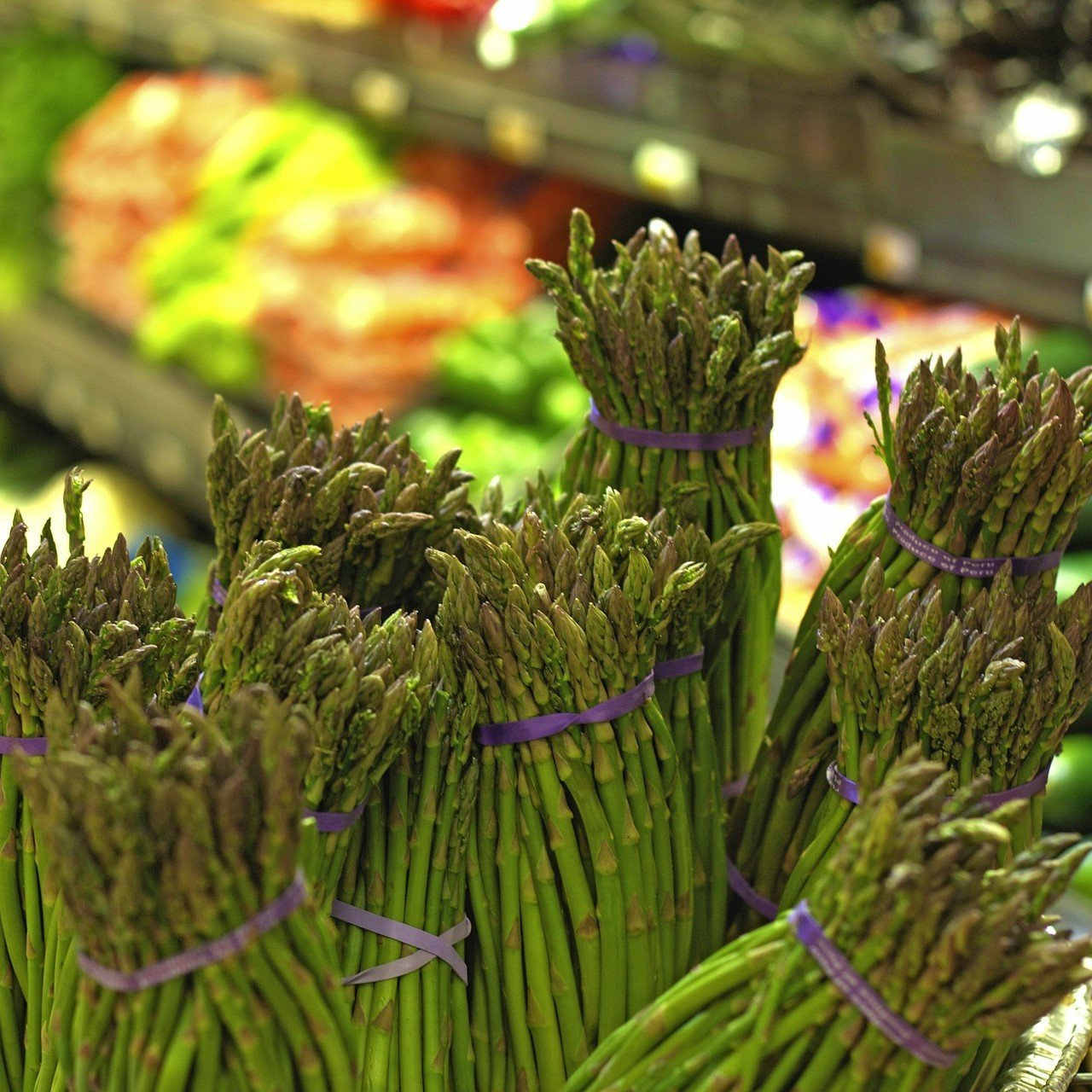 British Asparagus In-store Display