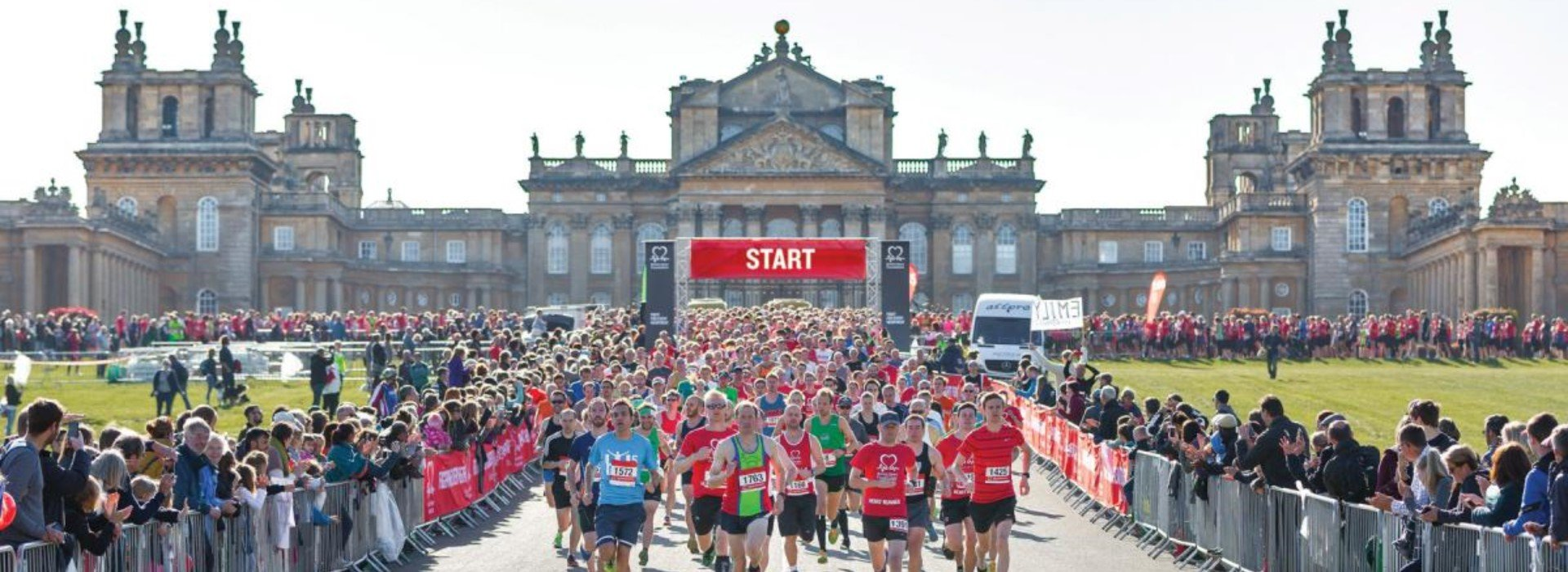 The British Heart Foundation Half Marathon 2018 Blenheim Palace Oxford