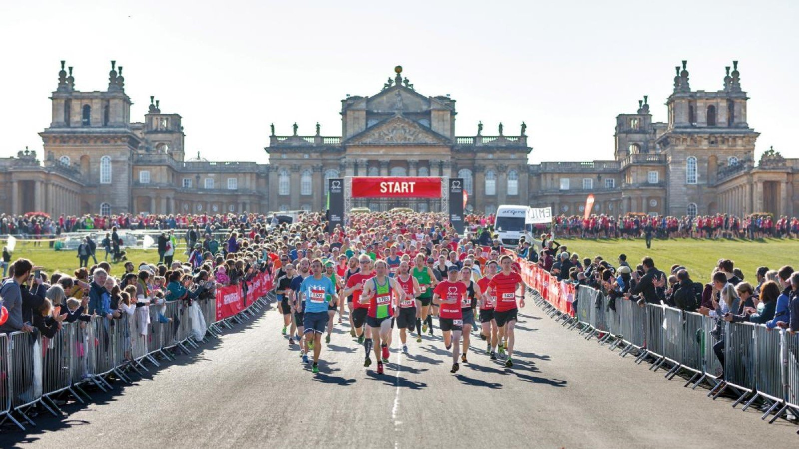The British Heart Foundation Half Marathon, Blenheim Palace, Oxford