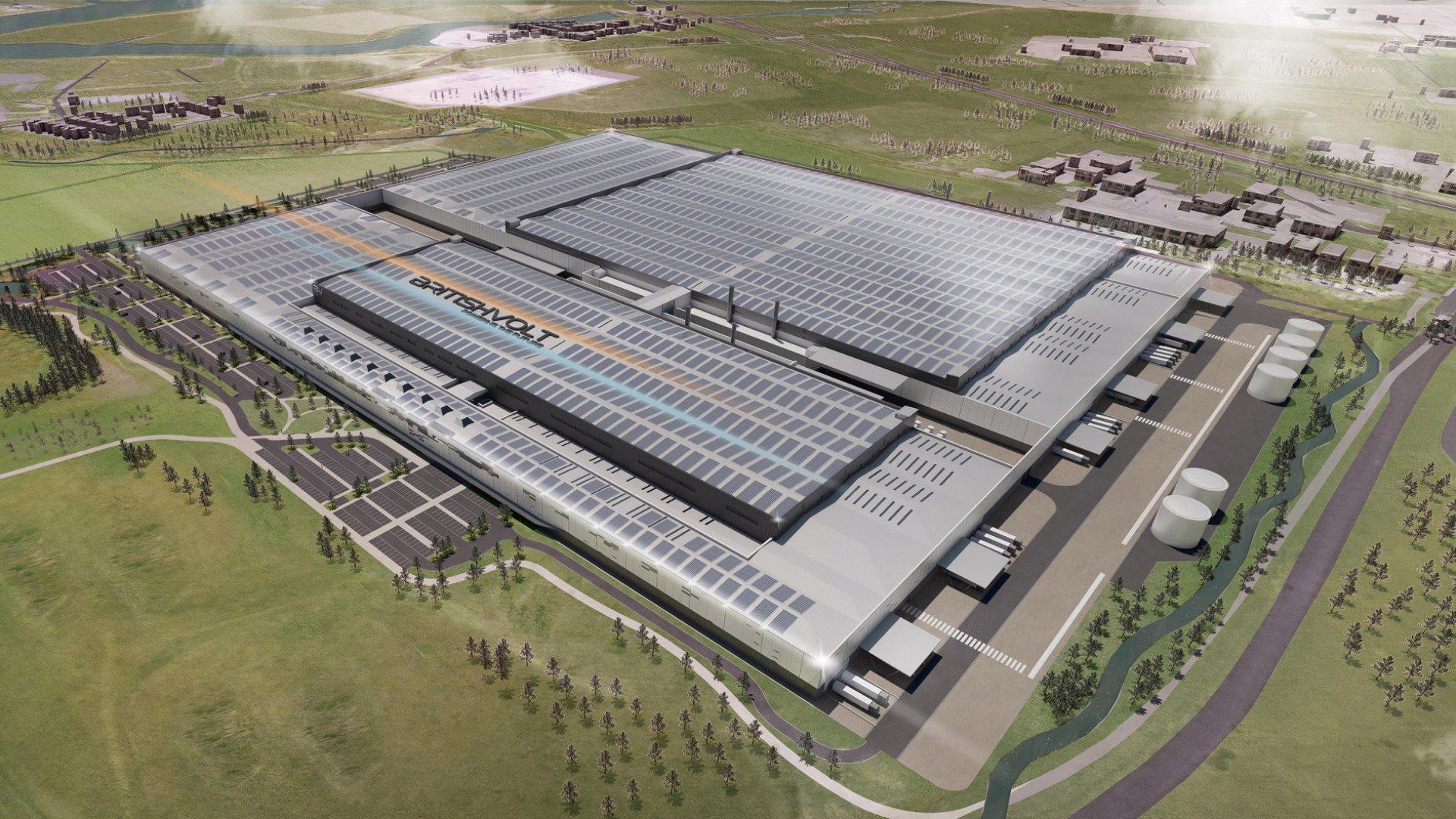Planning Approval Granted for Britishvolt's world-class Gigaplant