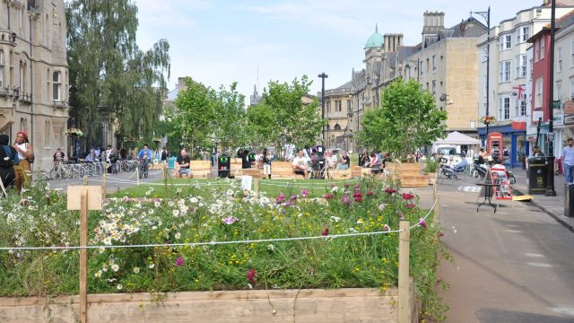 Oxford City Council is to extend Broad Meadow until 10 October 2021
