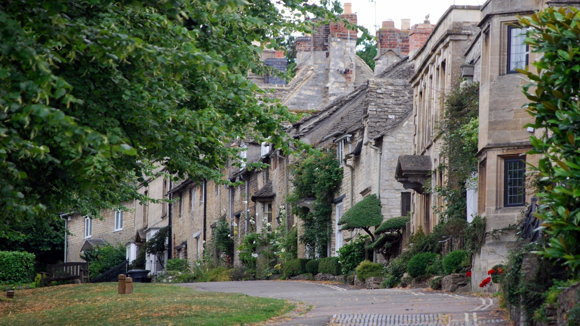 Burford in Oxfordshire Cotswold