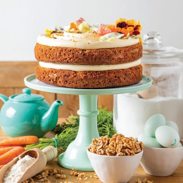 Carrot and Orange Cake Recipe by Barefoot Oxford